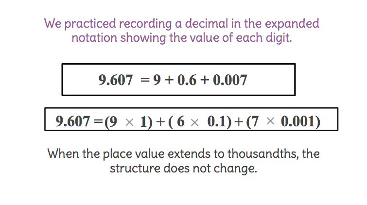 Teaching Expanded Notation Lawteched – Expanded Notation with Decimals Worksheets