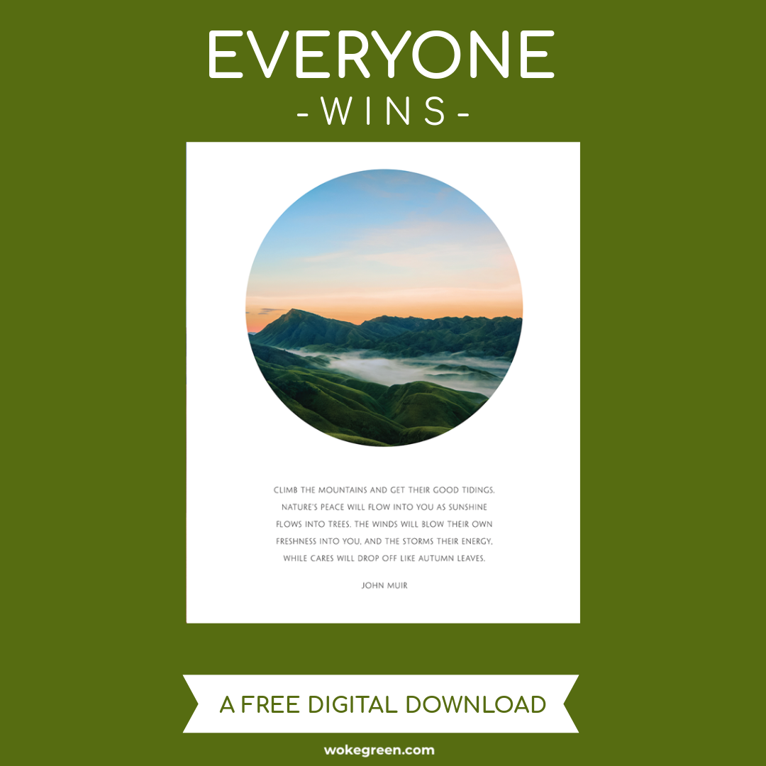 Consolation Prize: Everyone Will Receive A John Muir Mountains Poster Digital Download At The Close Of The Giveaway!