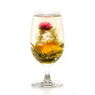 Two Dragons and a Pearl Silver Needle Flower Tea from Teavivre