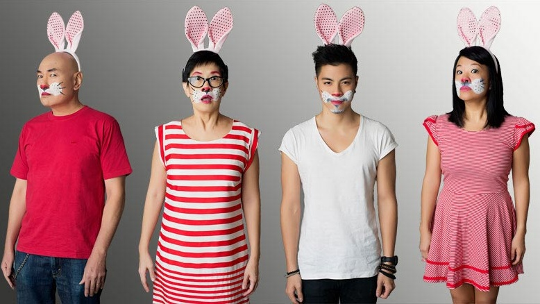 M1 Singapore Fringe Festival 2015:  White Rabbit Red Rabbit