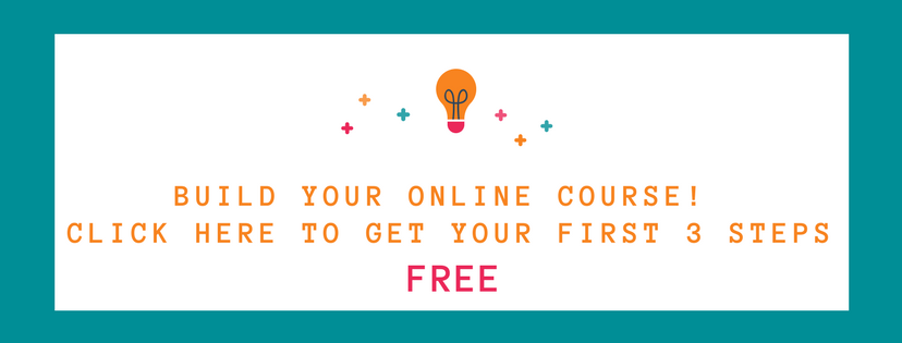 build your online course