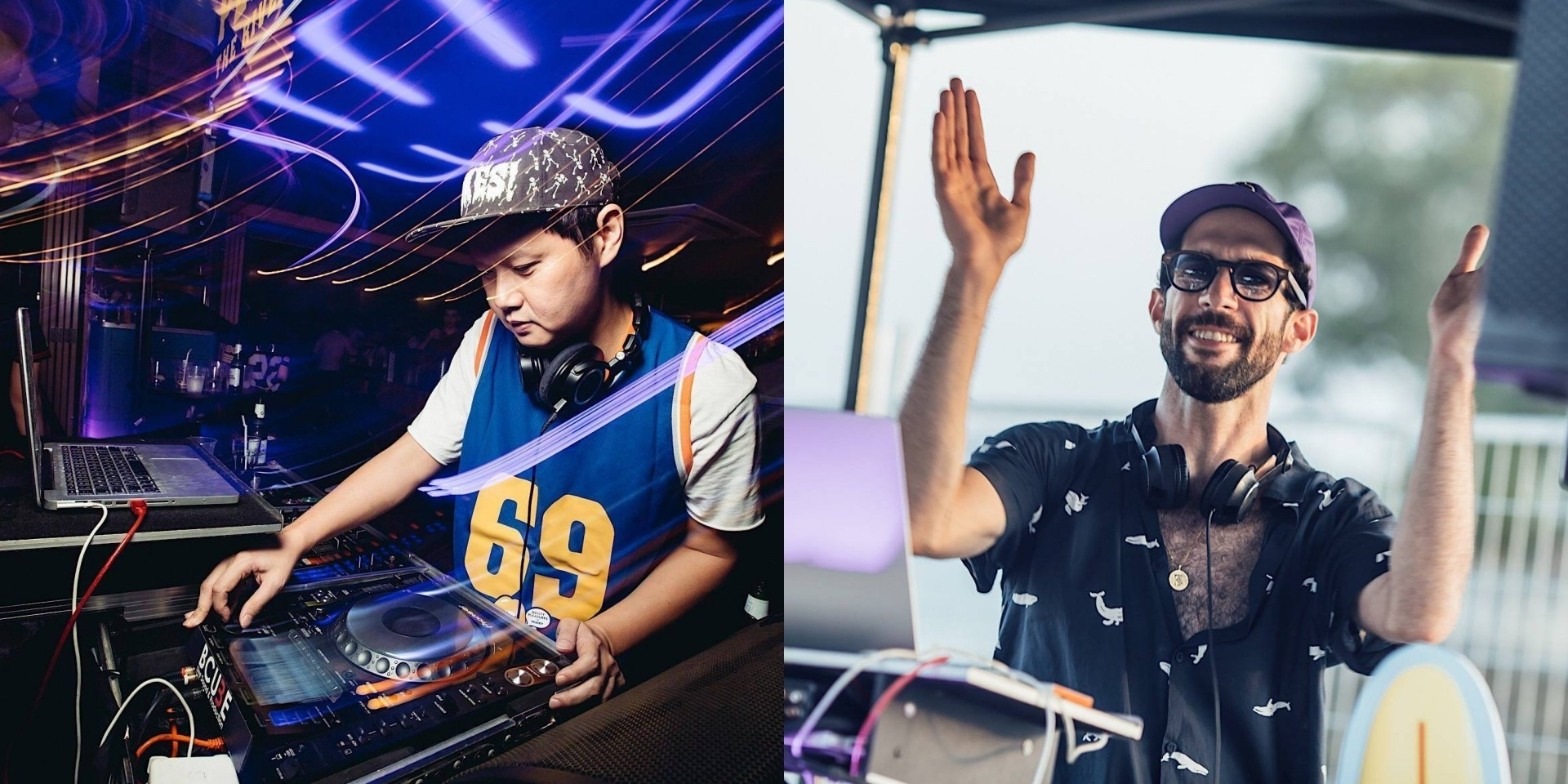 """""""A good dance session is good treatment for your body, mind and soul"""": DJs KiDG and Orio on playing for Jump Start"""