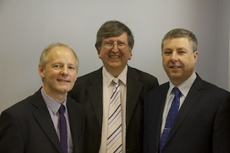 ART's Lending Team (L to R) Andy King, Dr Steve Walker, Martin Edmonds