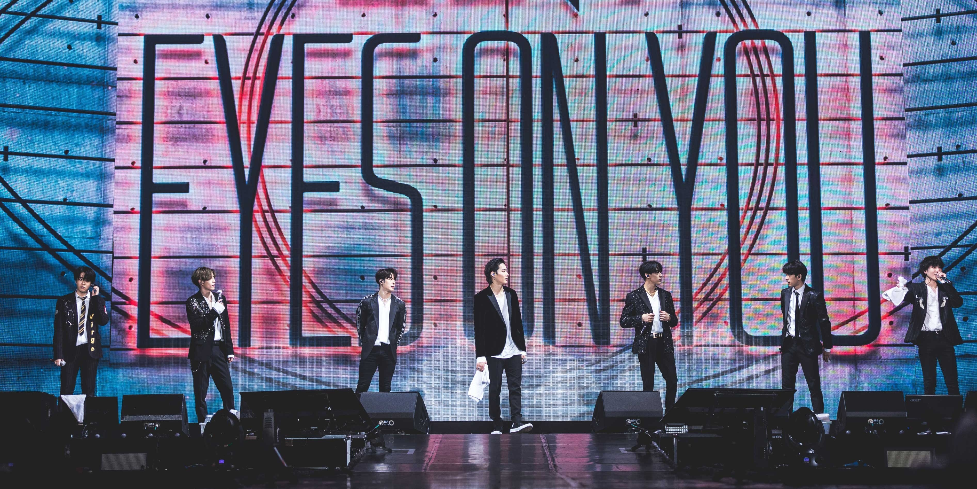 GOT7 mesmerizes the crowd at Singapore stop for 'Eyes On You' tour - gig report