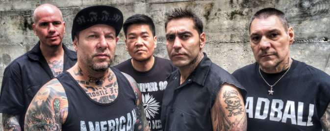 AGNOSTIC FRONT (NYHC) - Live in Singapore, 3rd May 2018 @ The Substation!