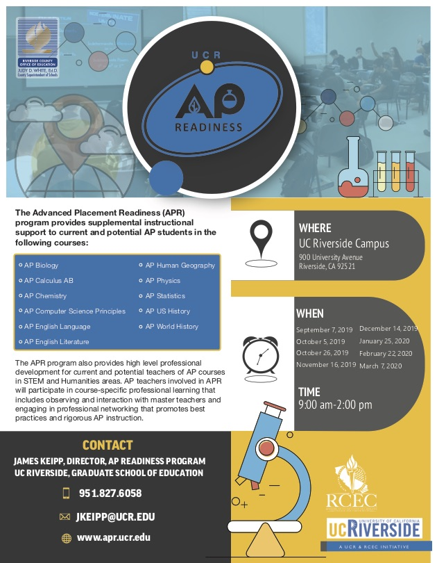 AP Readiness 19-20 Flyer