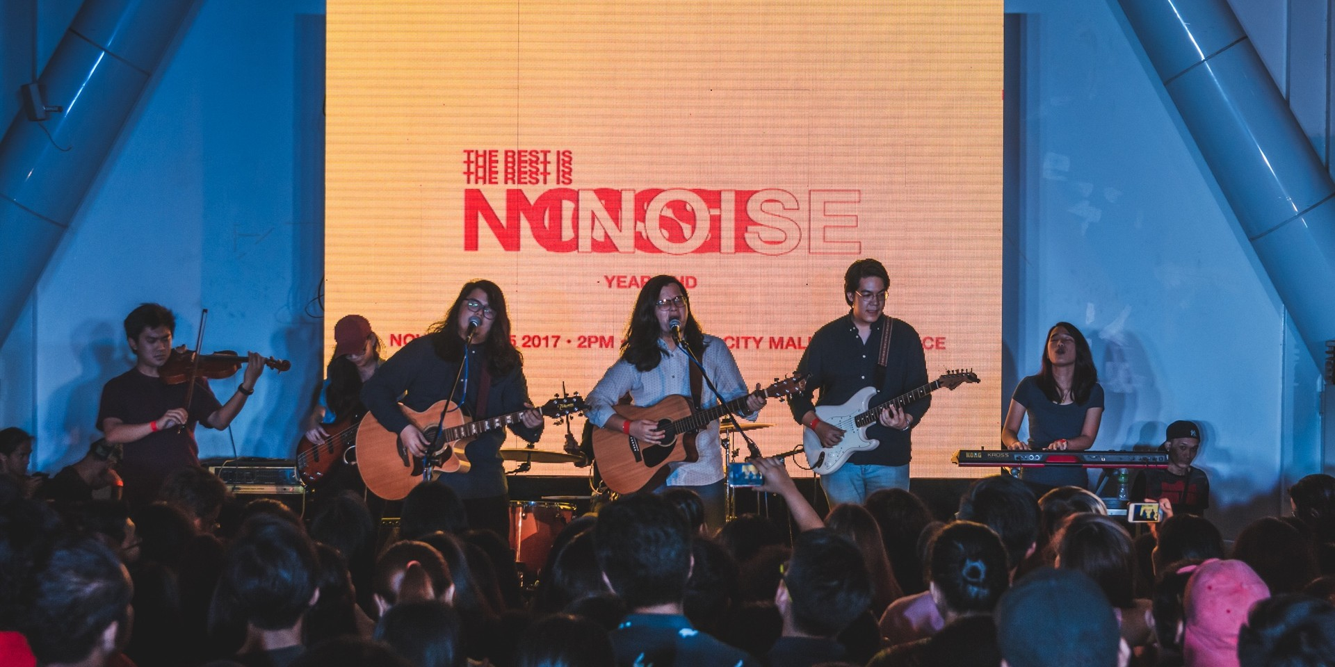 Music and advocacy take center stage at The Rest Is Noise Year End Gig