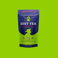 Pomegranate Mojito from Zest Tea