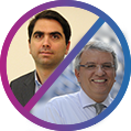 João Oliveira e Aldo Ometto (USP)