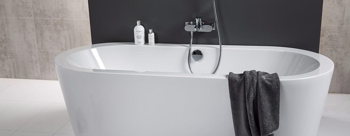 Her får du 8 tips til hvordan pusse opp badet ditt - noe mange etterspør hos oss!