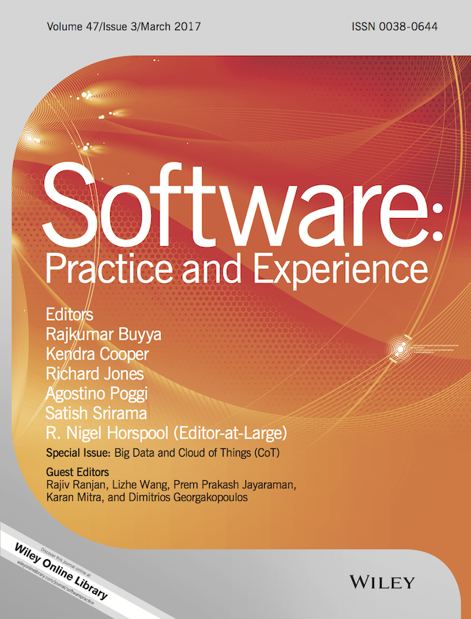 Template for submissions to Software: Practice and Experience