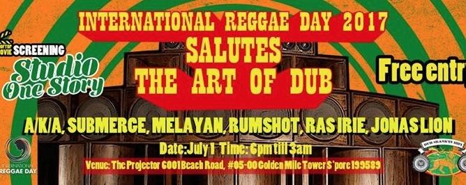 International Reggae Day 2017