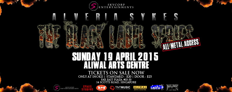 Alveria Sykes: The Black Label Series (All-Metal Access) 2015