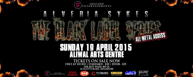 Alveria Sykes: The Black Label Series (All-Metal Access) 2015
