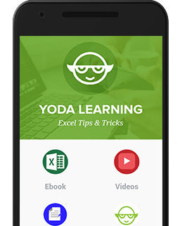 Download Our App learn excel on the go
