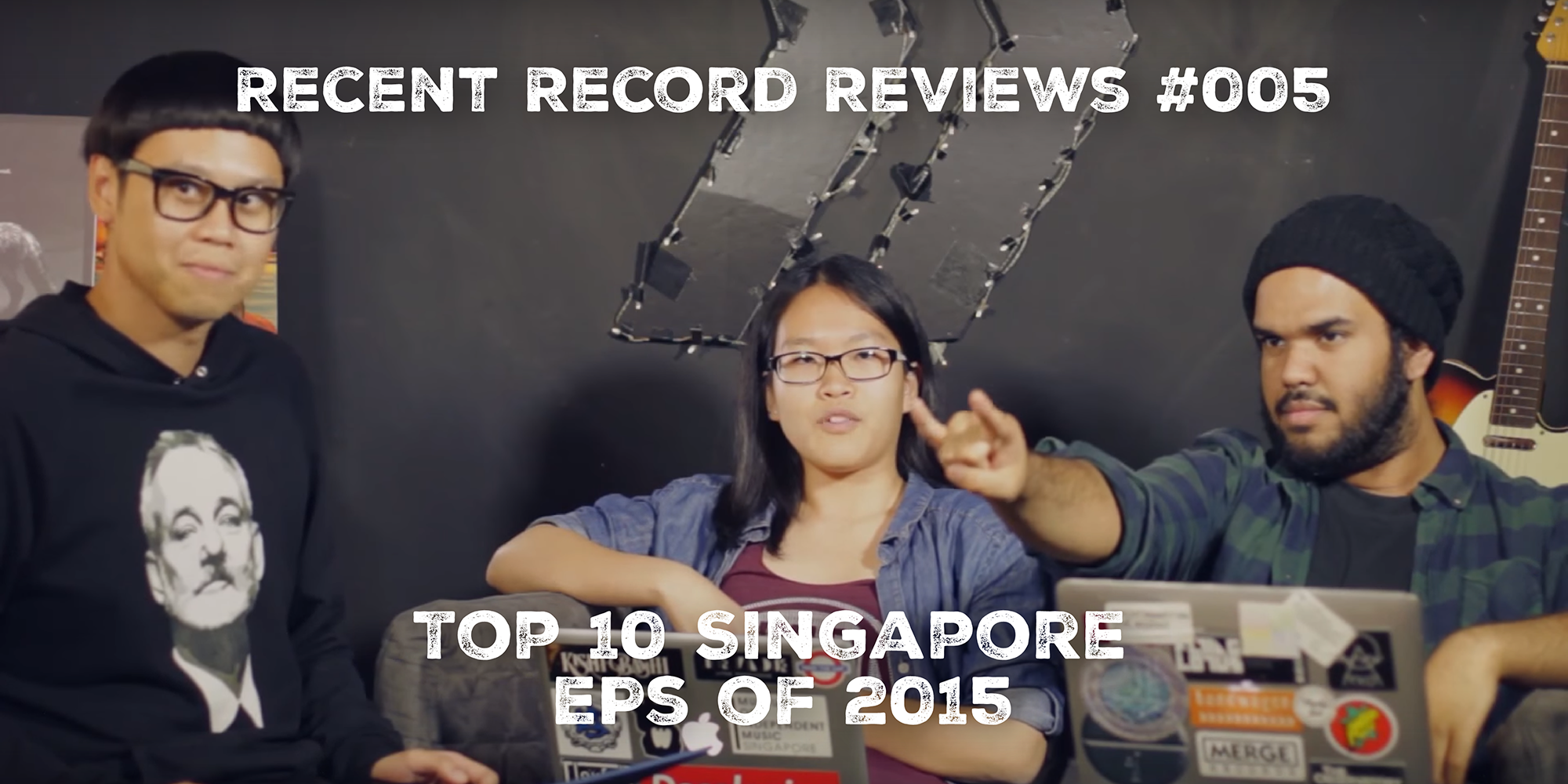 WATCH: Bandwagon Recent Record Reviews #005 - Top 10 Singapore EPs of 2015