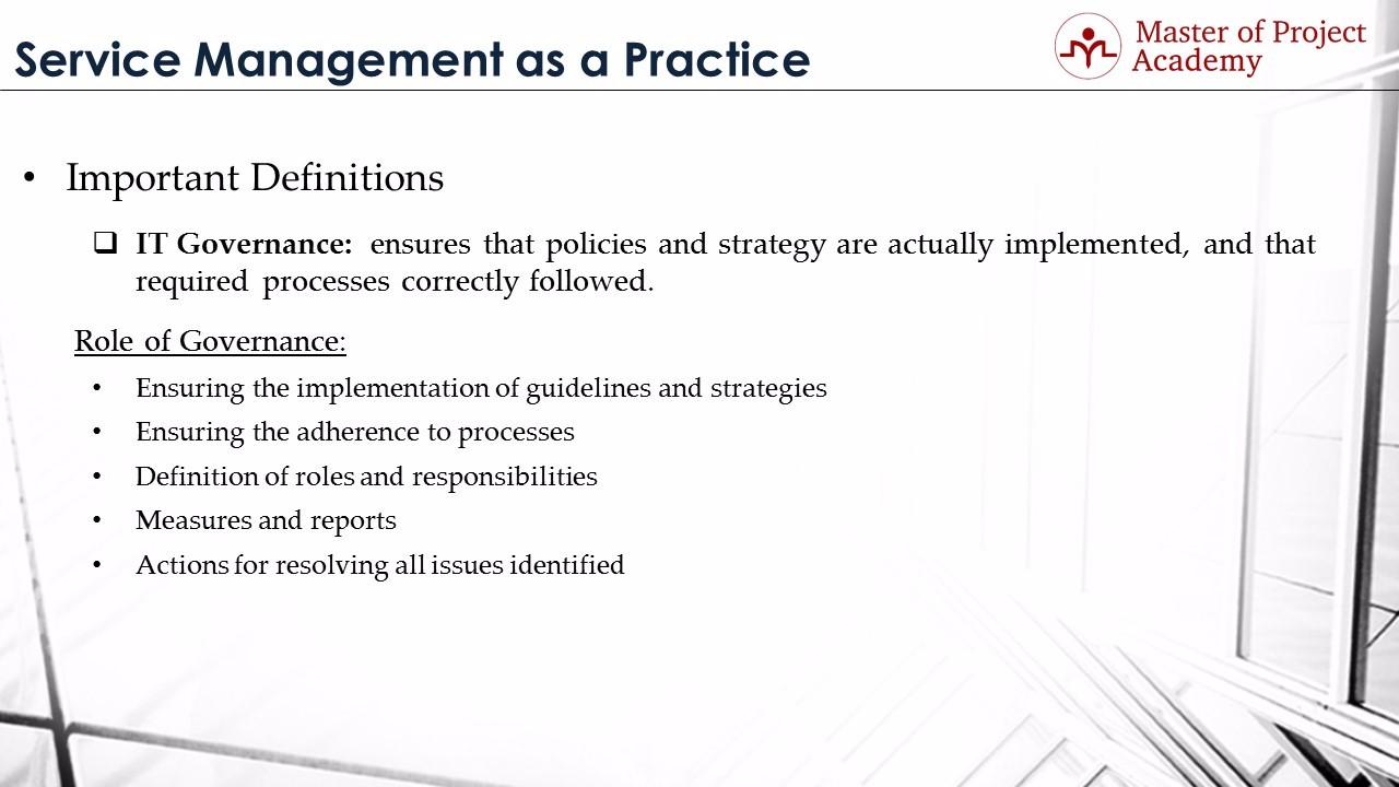 IT Governance Roles