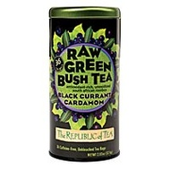 Black Currant Cardamom Raw Green Bush Tea from The Republic of Tea
