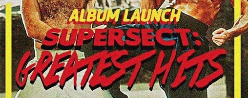SUPERSECT : GREATEST HITS ALBUM LAUNCH