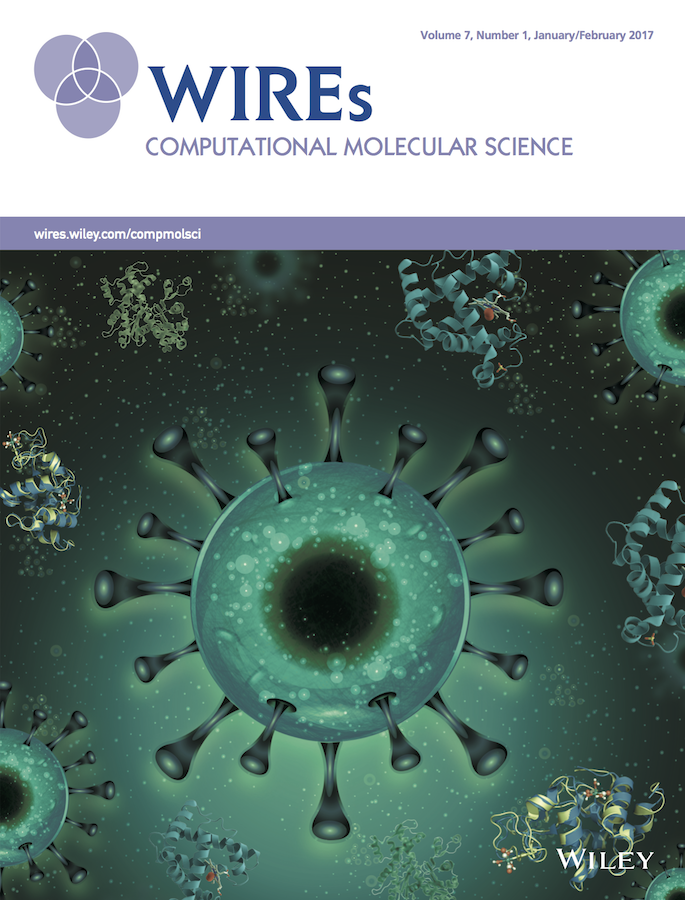 Template for submissions to Wiley Interdisciplinary Reviews: Computational Molecular Science
