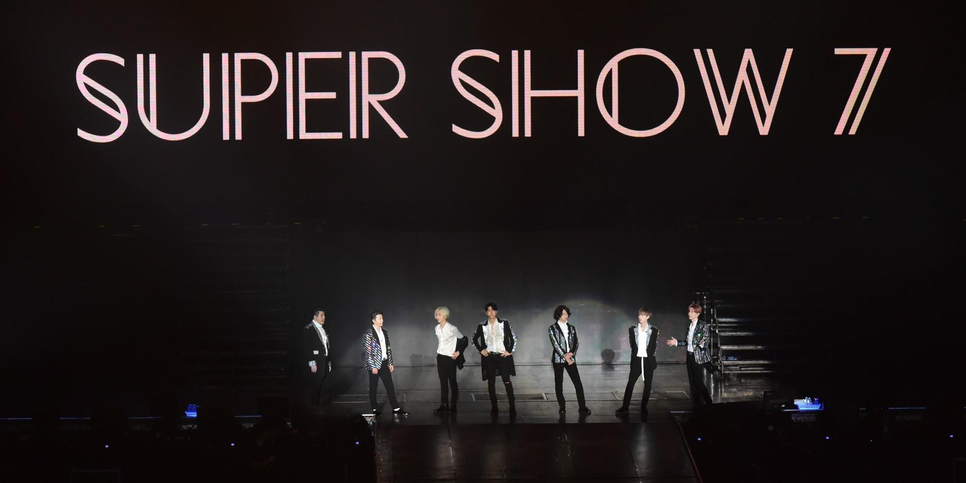 Super Show 7圆满落幕Super Junior仅七人气势不减