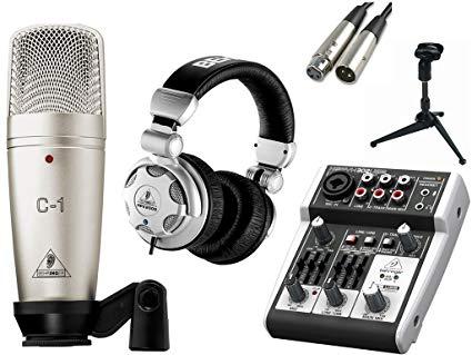 Mikrofoon Radio Omroeper Kort Kursus