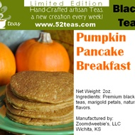 Pumpkin Pancake Breakfast from 52teas
