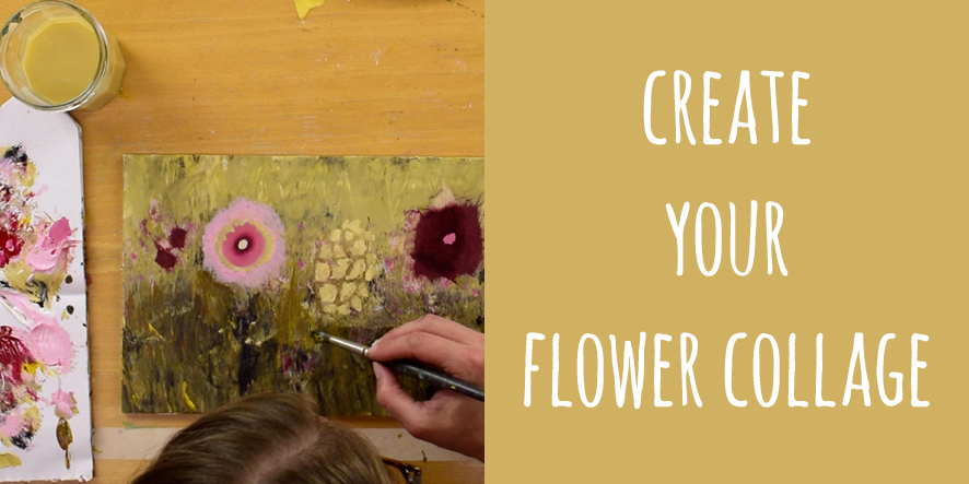 create your flower collage