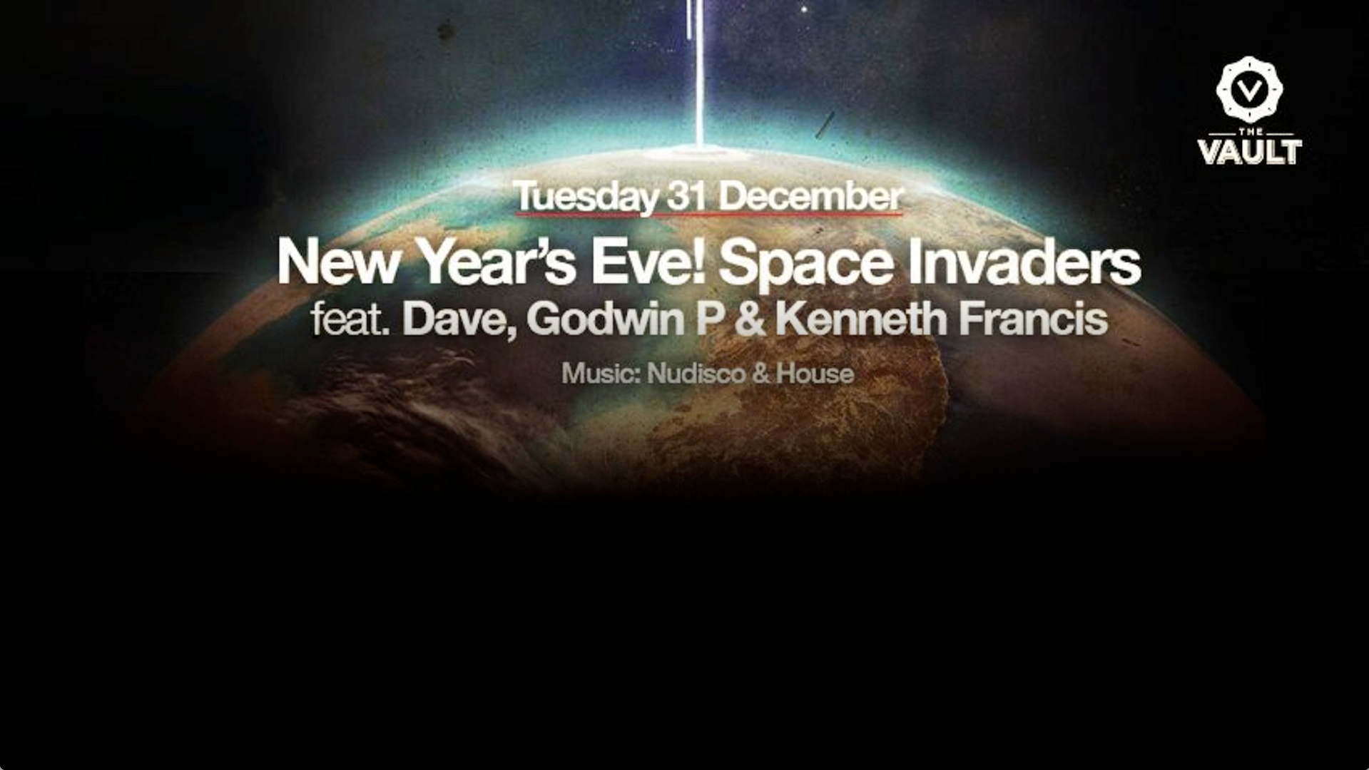 New Year's Eve! Space Invaders