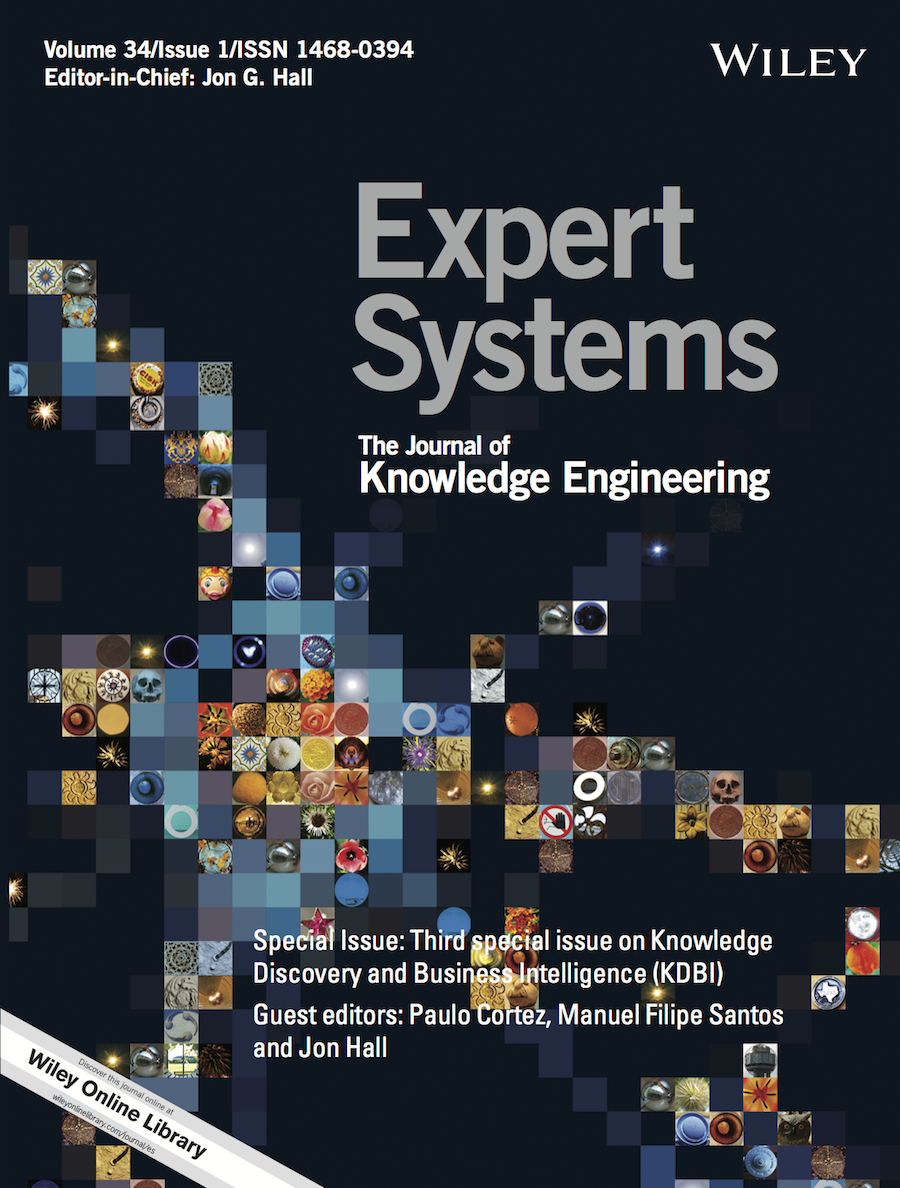Template for submissions to Expert Systems