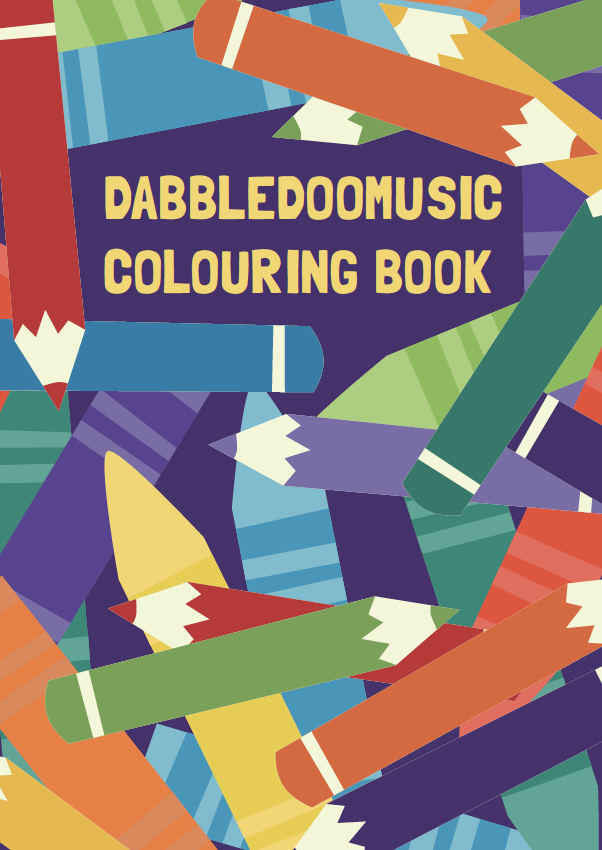DabbledooMusic Musical Colouring Book
