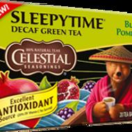 Sleepytime Decaf Blackberry Pomegranate Green Tea from Celestial Seasonings