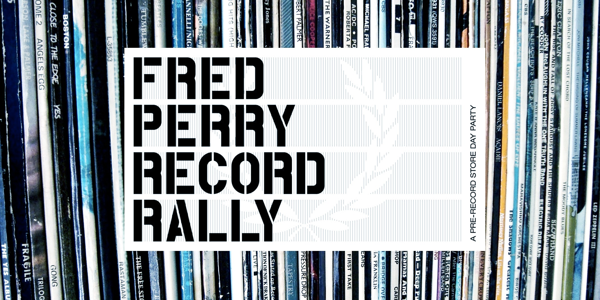 Fred Perry Record Rally promises crate-digging fun at Chye Seng Huat Hardware
