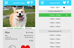 Rescue A Dog Mobile Application