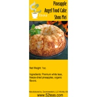 Pineapple Angel Food Cake from 52teas