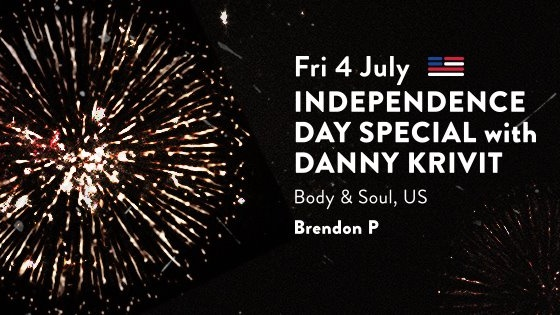 INDEPENDENCE DAY SPECIAL with DANNY KRIVIT (NYC)