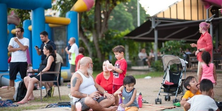 Beats, BBQ & Bouncy Castles: Field Vibes & Tanjong Goodman Weekend Market throw a picnic party
