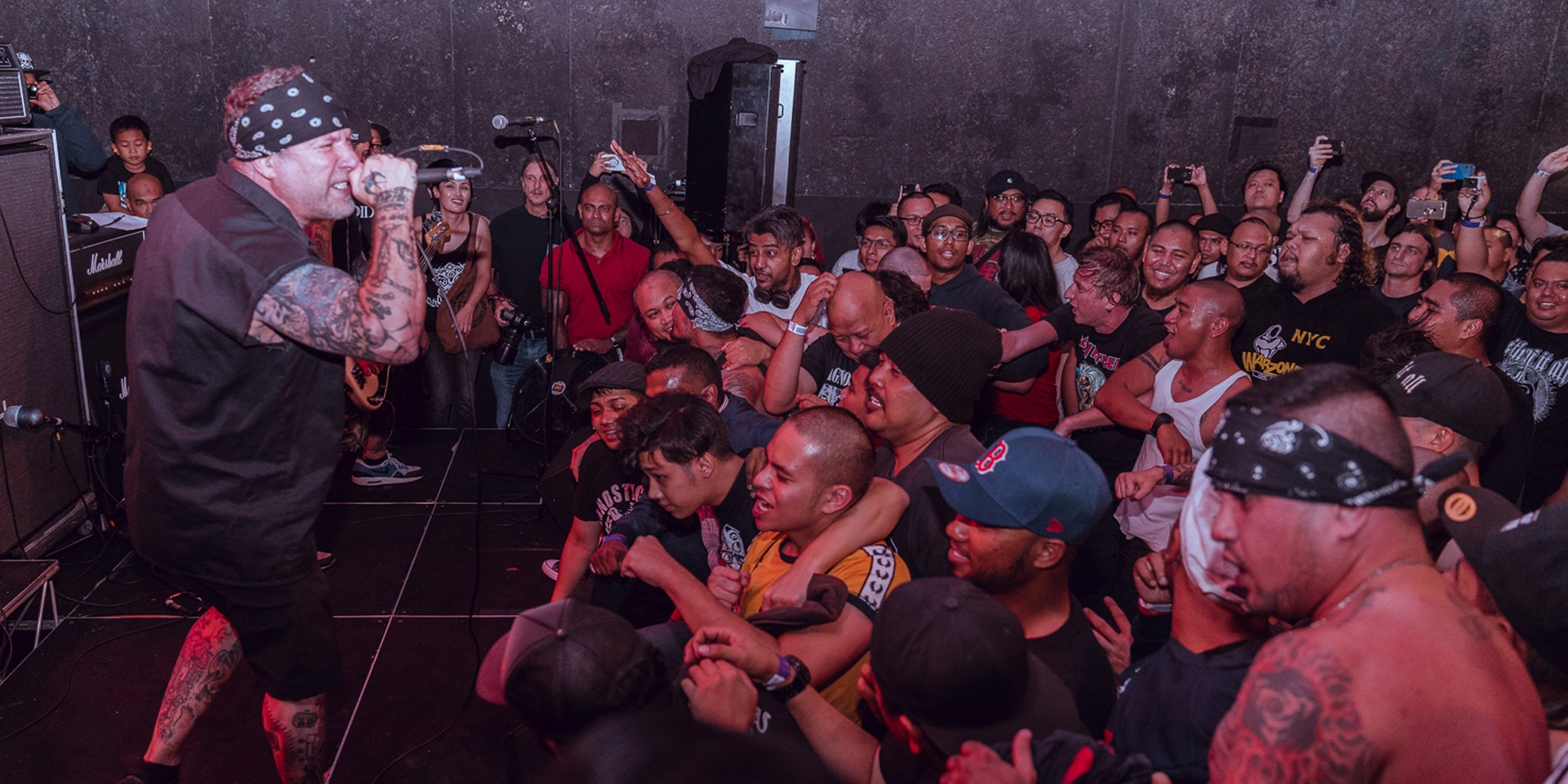 Agnostic Front tear up the Substation at their first ever Singapore show – gig report