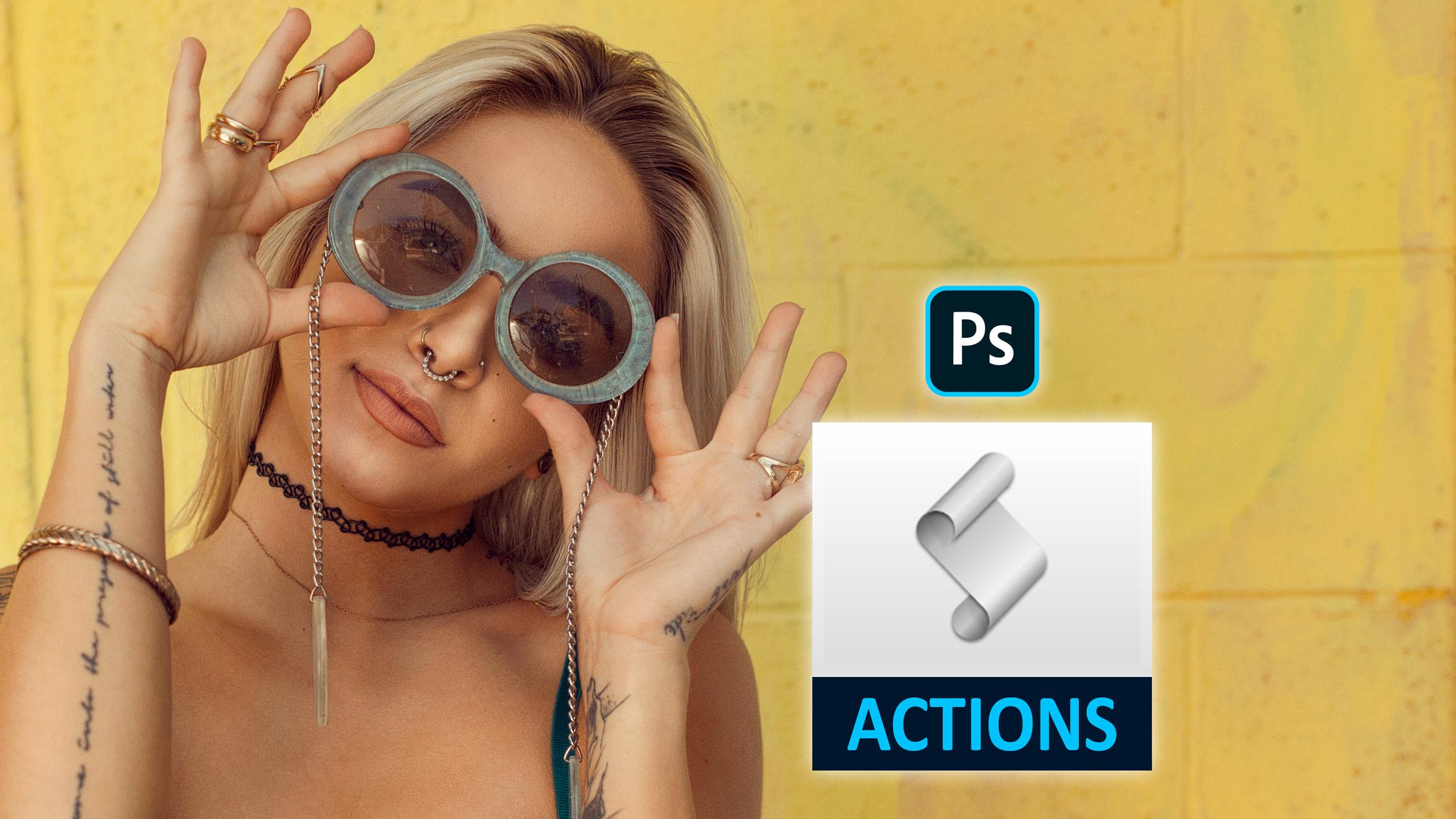 Curso Acciones En Photoshop - Más De 120 Acciones Incluidas!