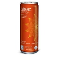 Orange Energy Drink from Steaz