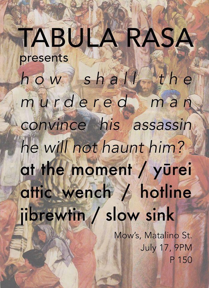 Tabula Rasa presents