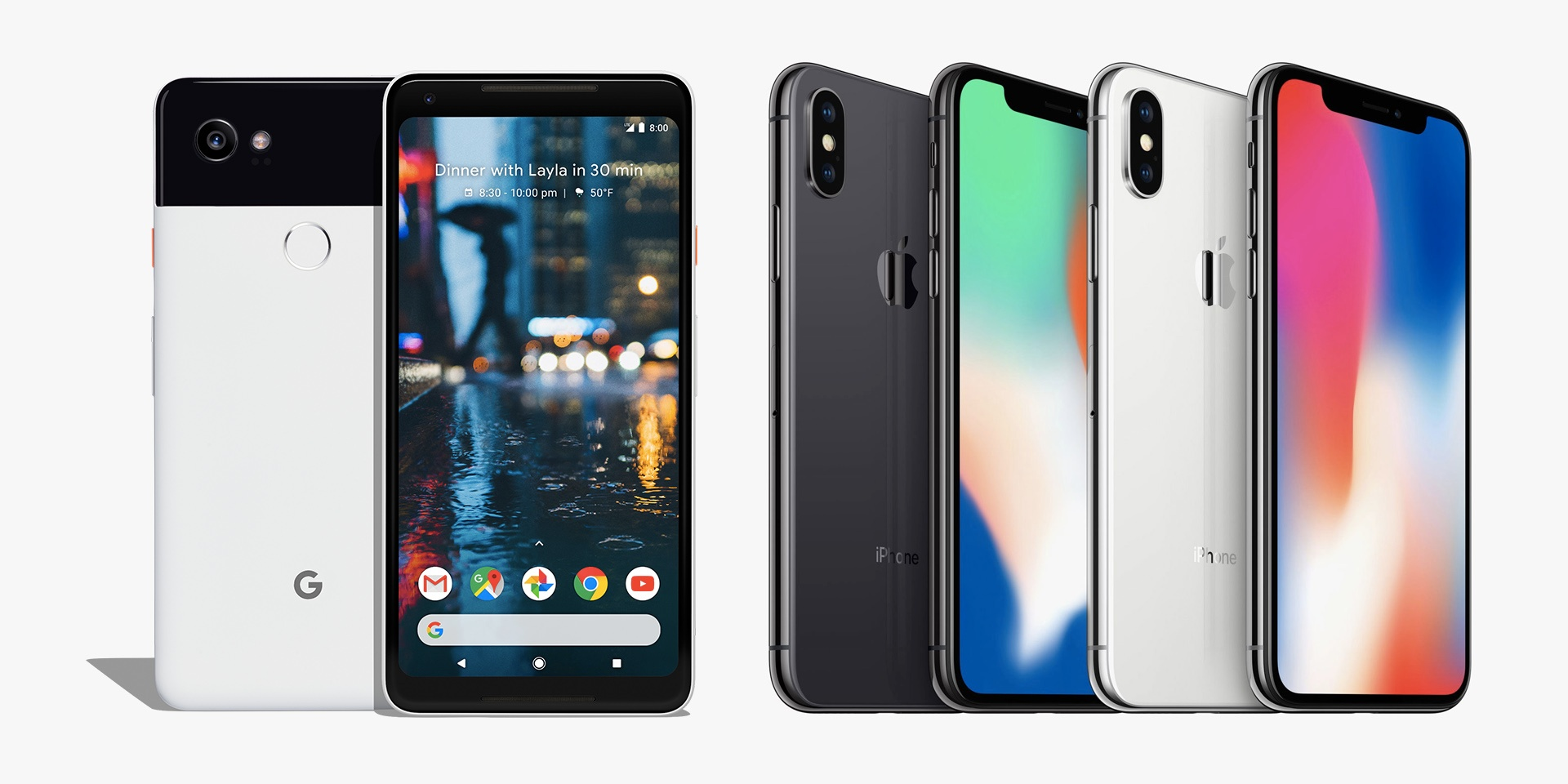 Google Pixel 2 XL vs iPhone X: A music showdown