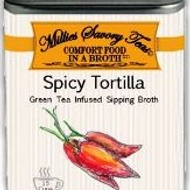 Spicy Tortilla Green Tea Infused Sipping Broth from Millie's Savory Teas