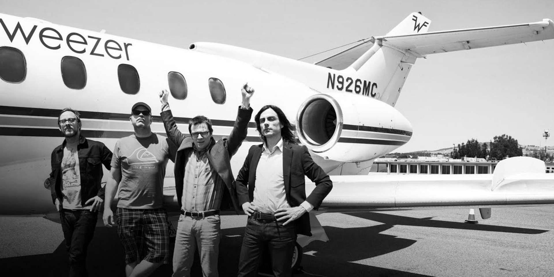 You could meet Weezer when they're in Singapore