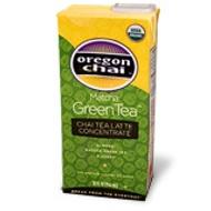 Matcha Green Tea Chai Tea Latte Concentrate from Oregon Chai