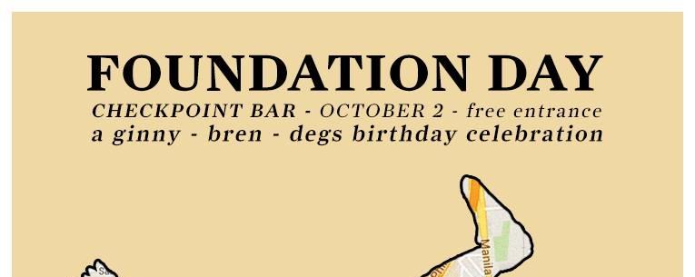 Foundation Day!