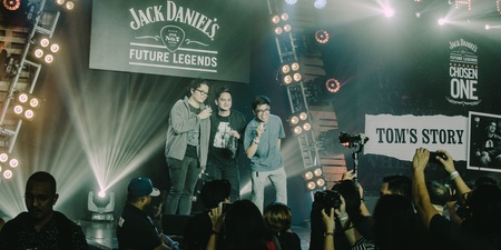 Tom's Story is Jack Daniel's Future Legends Chosen One