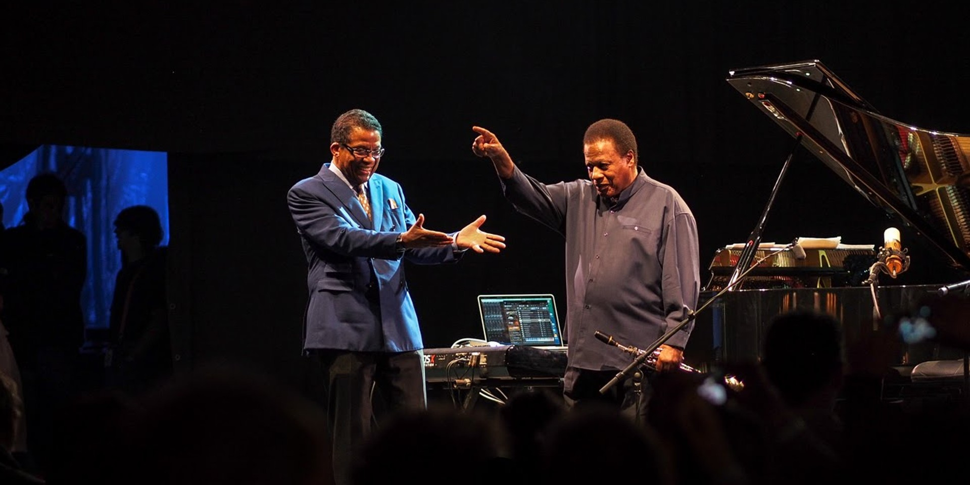 Wayne Shorter and Herbie Hancock penned an inspiring open letter to artists