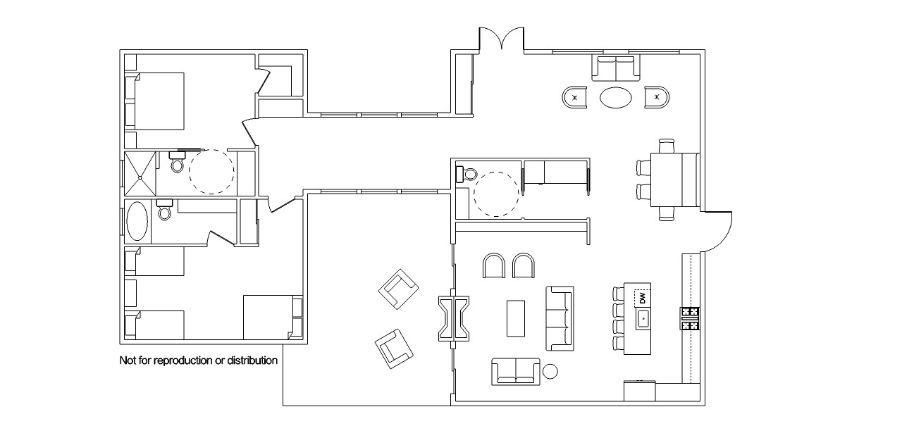 Sketchup for interior designers draw a floor plan in for Floor plans in sketchup