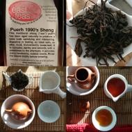 Puerh 1990's Sheng from East Teas